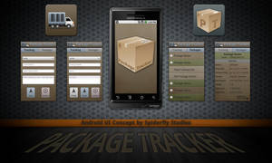 Package Tracker - Android UI