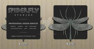 Spiderfly Studios Bus. Cards