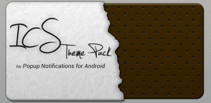 Popup Notifications for Android - ICS Themes