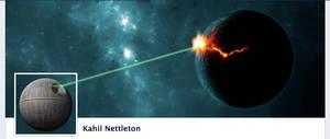 Death Star Facebook Timeline Cover