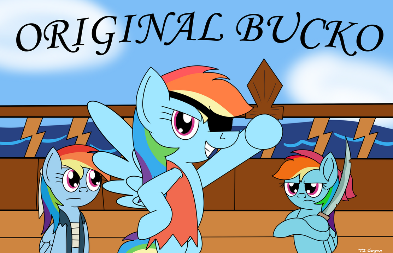 The Original Bucko by toonboy92484