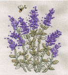 Lavender Cross Stitch