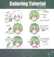 Coloring tutorial by dee2cee