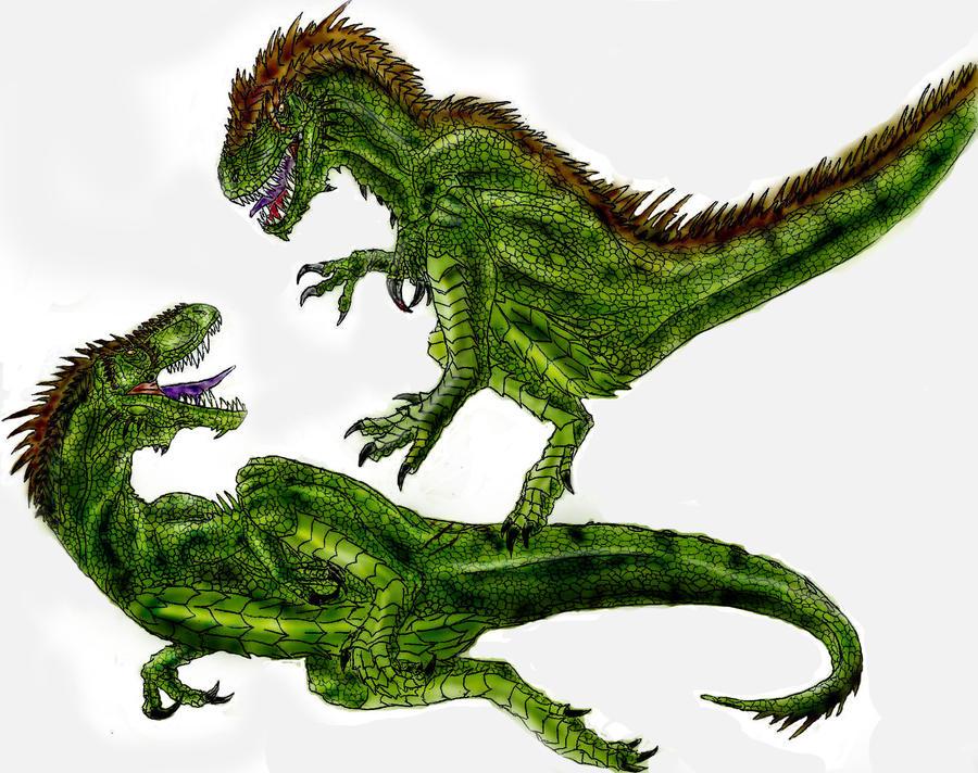 Dryptosaurus by Durbed