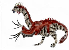 Therizinosaurus by Durbed