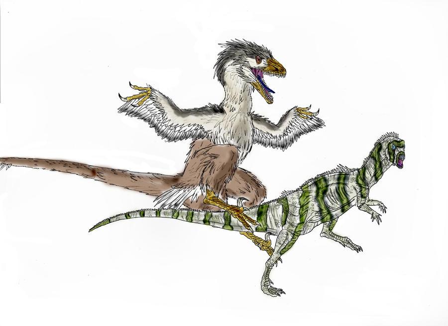 deinonychus sculpture by pheaston - photo #46