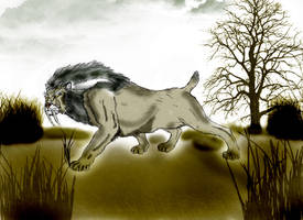 Smilodon by Durbed