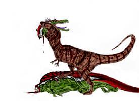Carcharodontosaurus saharicus by Durbed