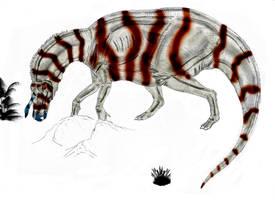 Tsintaosaurus spinhorhinus by Durbed