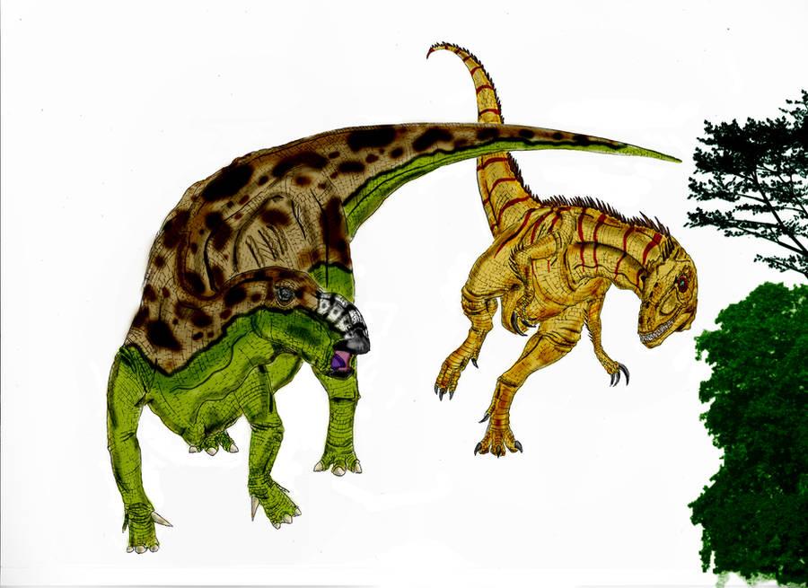 Muttaburrasaurus langdoni by Durbed