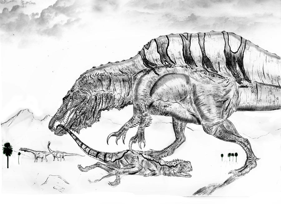 A New Spinosaurus By Durbed On DeviantArt