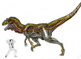 Allosaurus maximus by Durbed