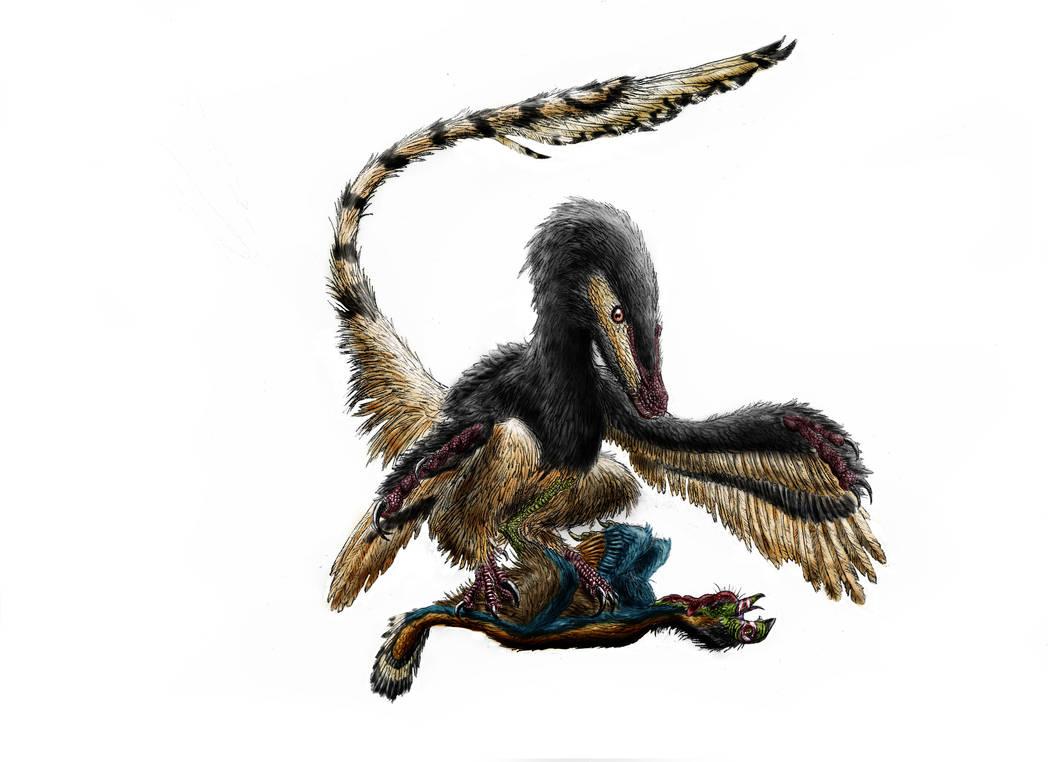 Mortal techniques II: Velociraptor by Durbed