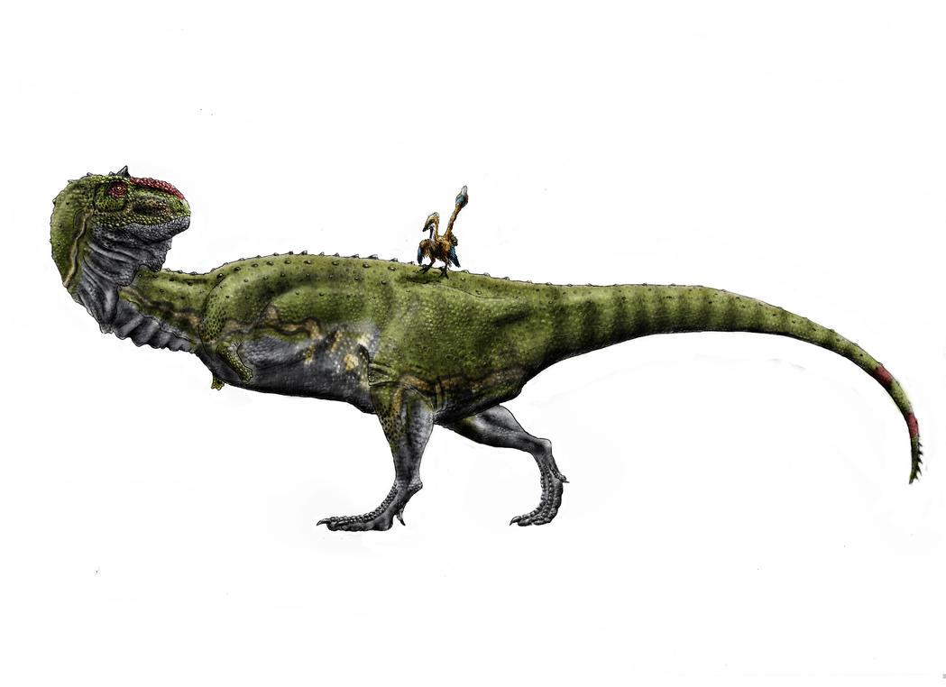 Majungasaurus crenatissimus by Durbed