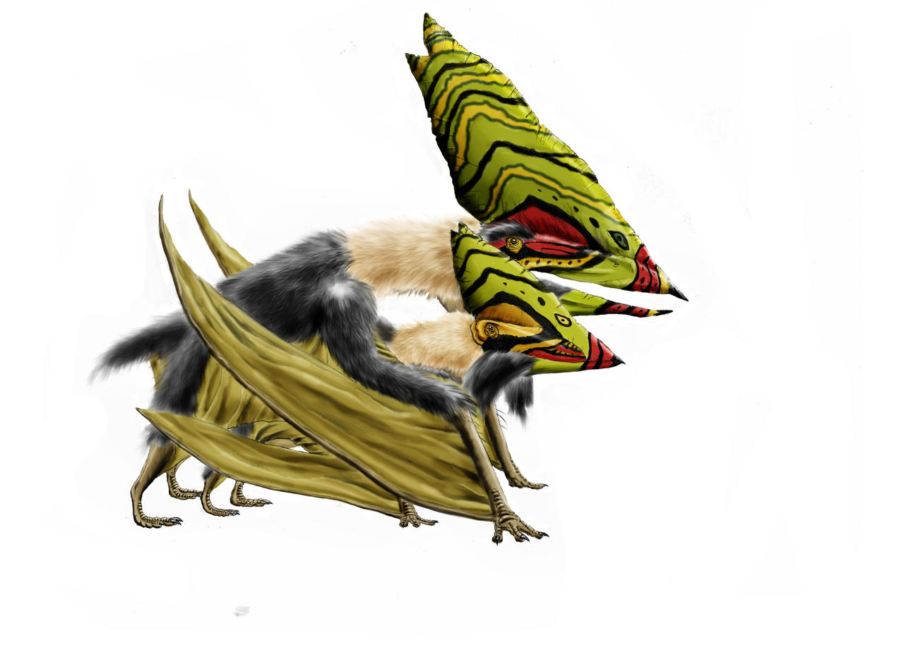 Hot fuzz: Thalassodromeus