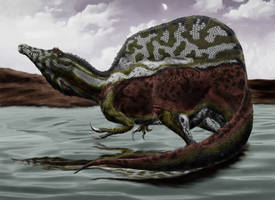 Spinosaurus Aegyptiacus by Durbed