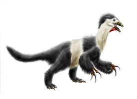 Beipiaosaurus inexpectus by Durbed