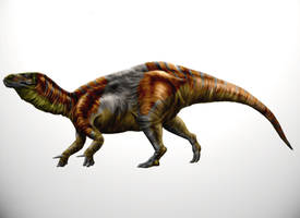 Iberian iguanodont by Durbed