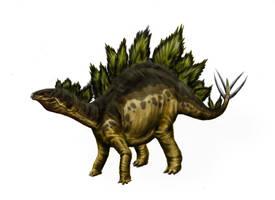 Stegosaurus armatus by Durbed