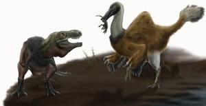 Don't mess with Deinocheirus