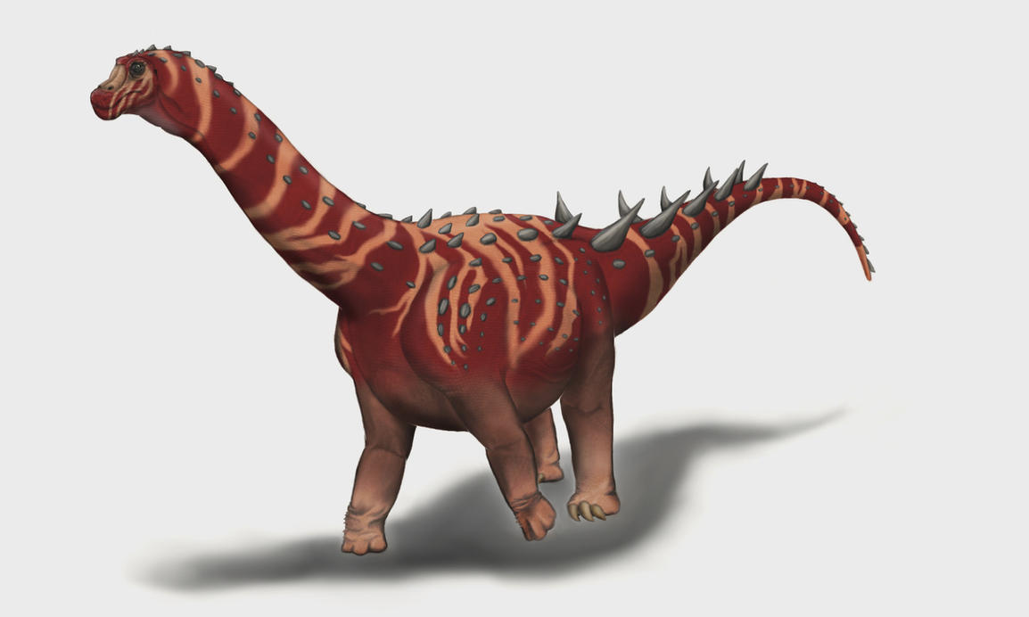 Nemegtosaurus mongoliensis by Durbed