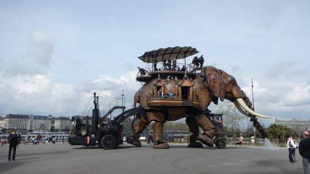 Steampunk elephant 2