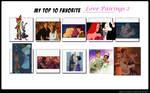 My Top 10 Favorite Pairings 2 by disneyfangirl774
