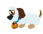 Toby as a Ghost Dog by disneyfangirl774
