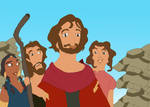Moses, Tzipporah, Aaron, and Miriam by disneyfangirl774