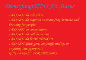 Disneyfangirl774's Art Status