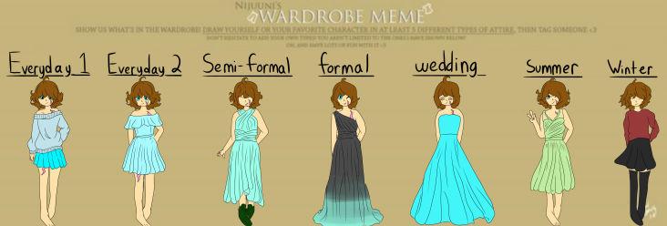 Cinnamon Wardrobe Meme!