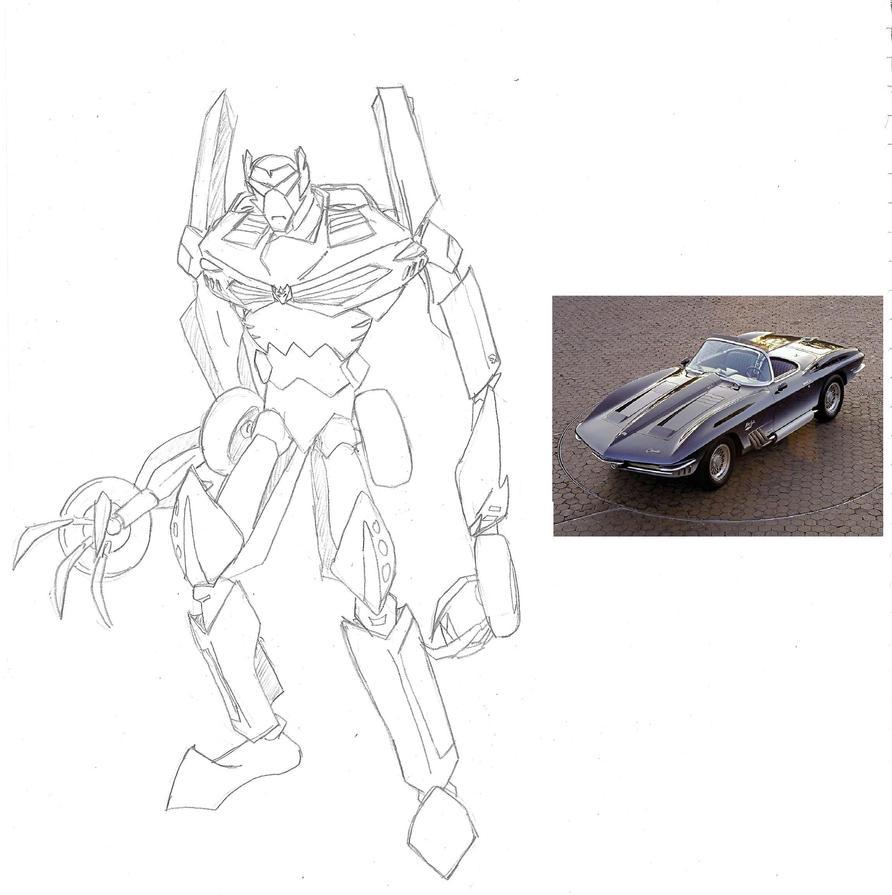 Decepticon Geargrind by hyphenatedsuperhero