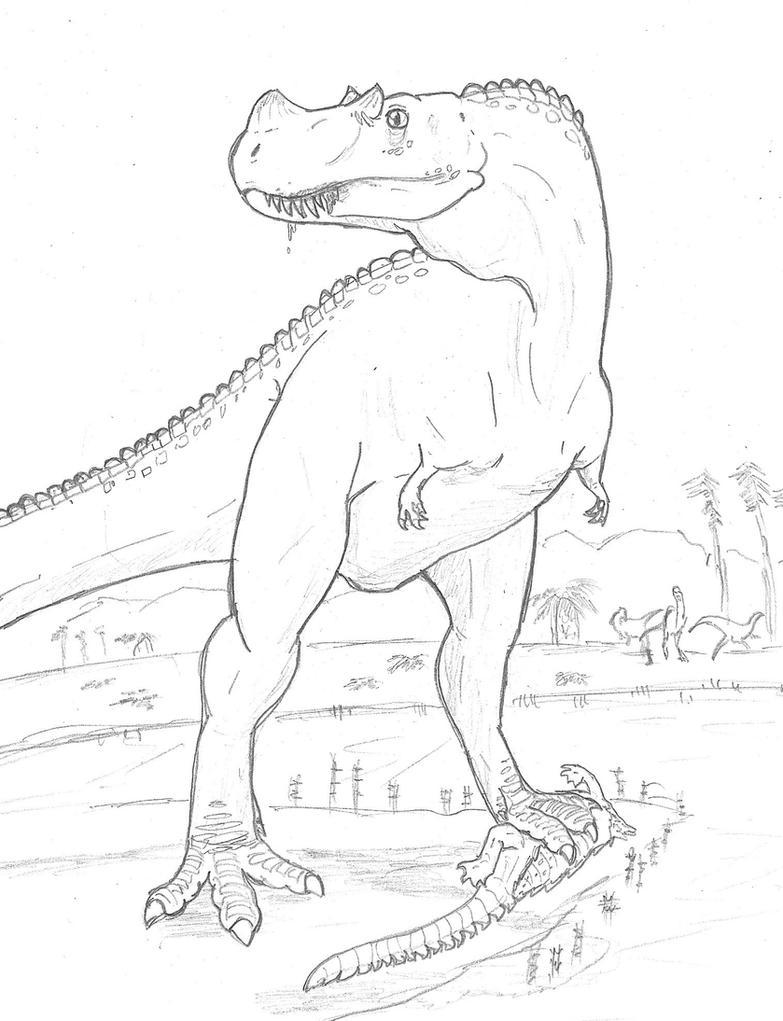 Jurassic Sabretooth by hyphenatedsuperhero