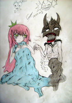 Devil Sea and innocent Mermaids by DenioScream