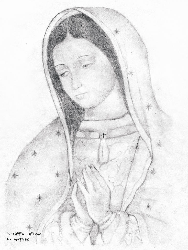 Virgen by artzec on DeviantArt