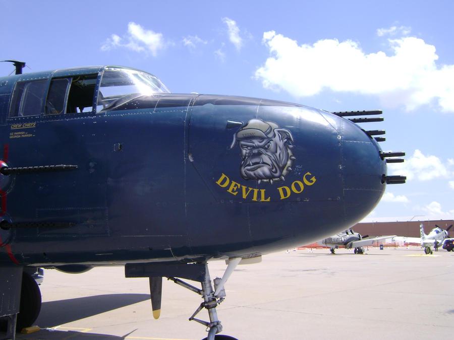 DevilDog, ship buster by spottyskunk