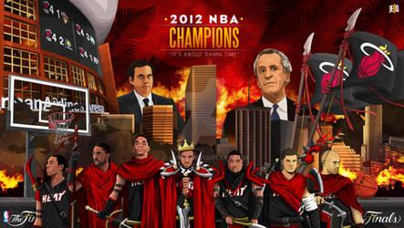 Miami Heat 2012 Championship