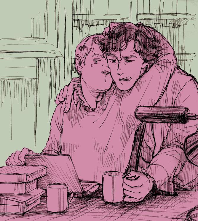 Sherlock and John by DonPerico