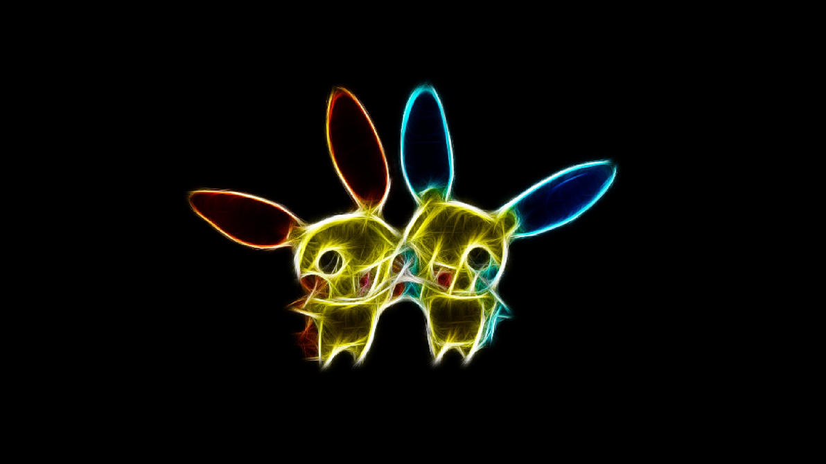Plusle And Minun Wallpaper Plusle and Minun by Th...