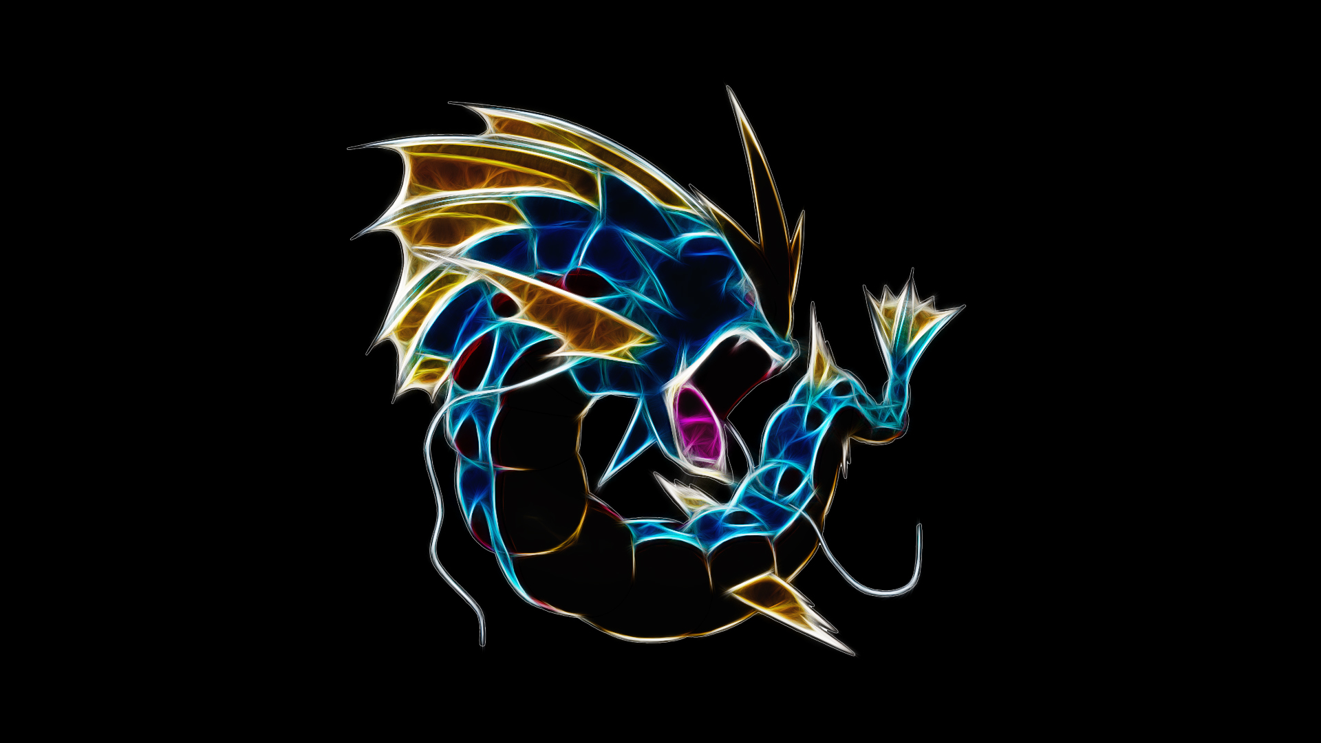 Mega Gyarados by TheBlackSavior on DeviantArt