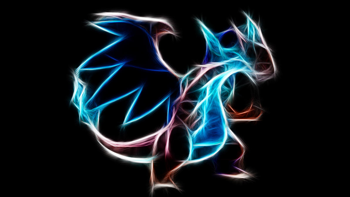 Mega Charizard X By TheBlackSavior