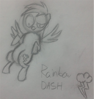 Sibsy Style Session #2 Rainbow Dash by MrCazum