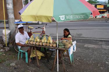 Pineapple vendor