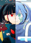 Takane and Ene -colored-