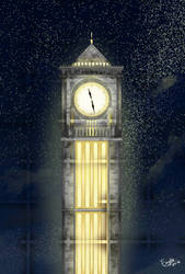 Clock Tower by enyllo
