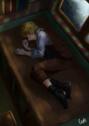 Sleeping Boy by enyllo