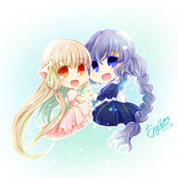 Chobits by enyllo