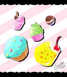 Dessert! by enyllo