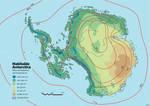 Habitable Antarctica: Precipitation + temperature