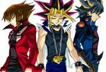 Three Protagonists